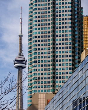 CN Tower and Buildings