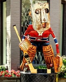 Public Art: The Goaltender