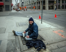 Homeless on King