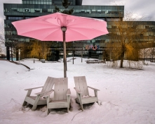 Sugar Beach in Winter