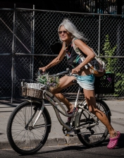 white-hair-on-a-bike