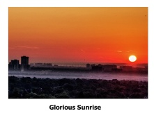 wbGlorious Sunrise