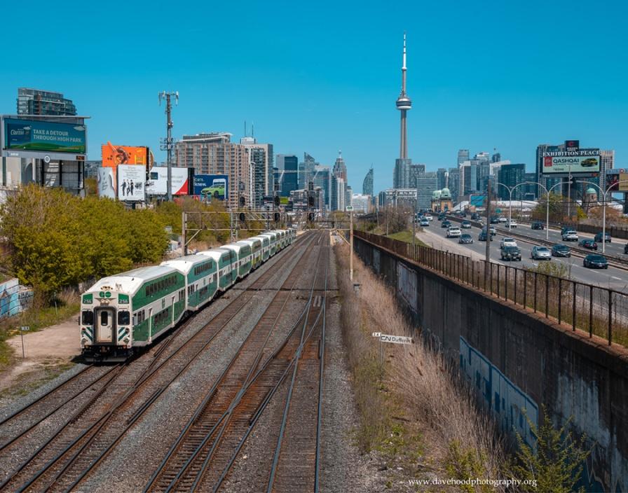 wbGo Train leaving Toronto